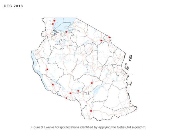 ACGG Tanzania poultry hotspots (image credit: IFPRI)